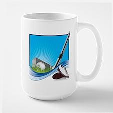 Golfing Fun Large Mug