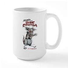 Attack of the Zombie Chinchilla Mug