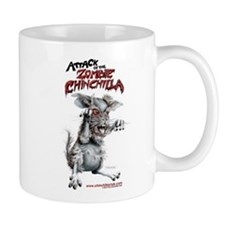Attack of the Zombie Chinchilla Mug