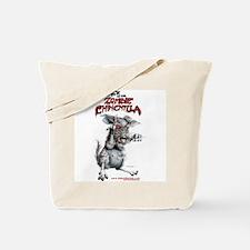 Attack of the Zombie Chinchilla Tote Bag