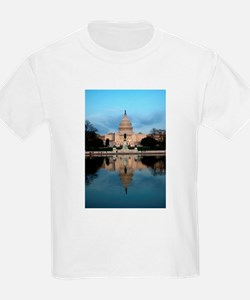 U.S. Capitol Building with Reflection T-Shirt