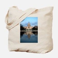 U.S. Capitol Building with Reflection Tote Bag