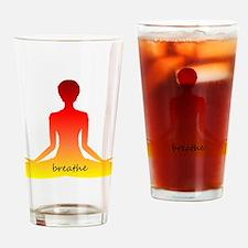 Warm Lotus Drinking Glass