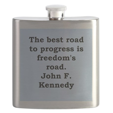 john f kennedy quote Flask