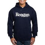 Reagan for President Hoodie (dark)