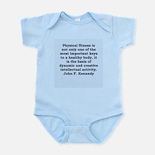 john f kennedy quote Infant Bodysuit