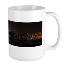 NIght Panoramic of New York City Mug