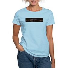 NIght Panoramic of New York City T-Shirt