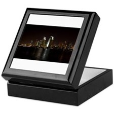 San Diego Night Skyline Keepsake Box