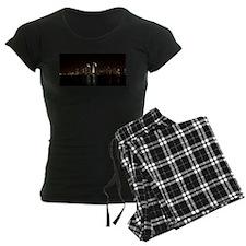 San Diego Night Skyline Pajamas
