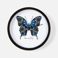 Witness Butterfly Wall Clock