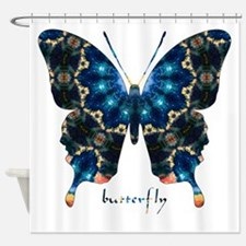Witness Butterfly Shower Curtain