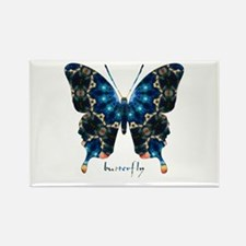 Witness Butterfly Rectangle Magnet