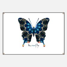 Witness Butterfly Banner