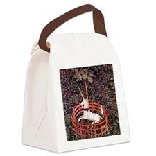 Captured Unicorn Canvas Lunch Bag