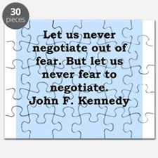 john f kennedy quote Puzzle
