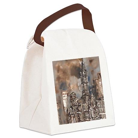 Philadelphia City Hall Canvas Lunch Bag