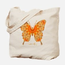 Jewel Butterfly Tote Bag
