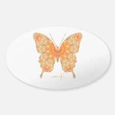 Jewel Butterfly Decal
