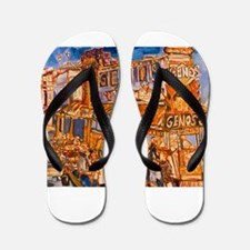 Philadelphia Genos CheeseSteak on 9th Flip Flops