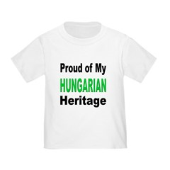 Proud Hungarian Heritage (Front) T