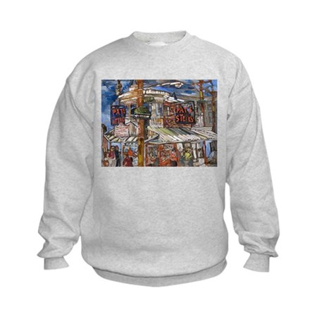 Philadelphia Pats CheeseSteak Kids Sweatshirt