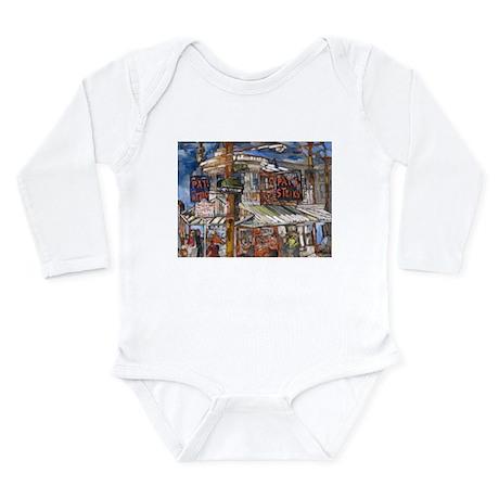 Philadelphia Pats CheeseSteak Long Sleeve Infant B