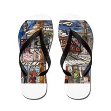 Philadelphia Pats CheeseSteak Flip Flops