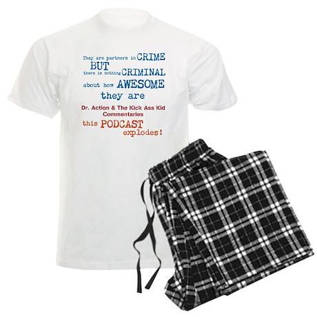 Criminally Awesome design Men's Light Pajamas