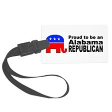Alabama Republican Pride Luggage Tag