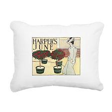Harpers June Rectangular Canvas Pillow