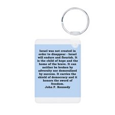 john f kennedy quote Keychains