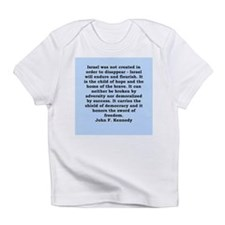 john f kennedy quote Infant T-Shirt