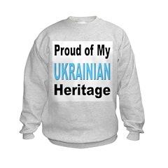 Proud Ukrainian Heritage Sweatshirt