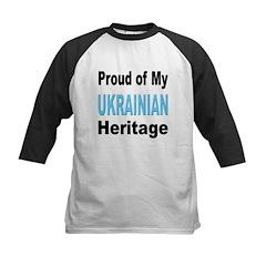 Proud Ukrainian Heritage Kids Baseball Jersey
