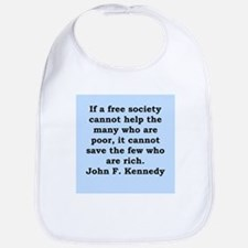 john f kennedy quote Bib