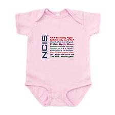 NCIS Quotes Infant Bodysuit