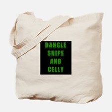 Dangle Snipe and Celly Tote Bag