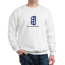 SSI - 2nd Infantry Brigade with Text Sweatshirt