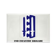 SSI - 2nd Infantry Brigade with Text Rectangle Mag