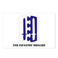 SSI - 2nd Infantry Brigade with Text Postcards (Pa