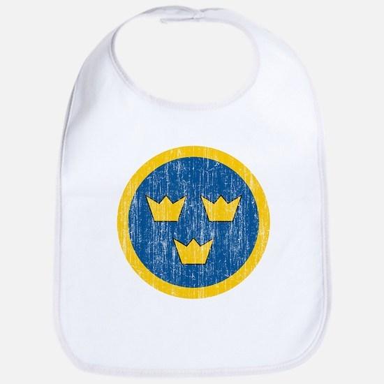 Sweden Roundel Bib