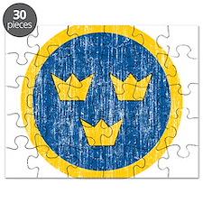 Sweden Roundel Puzzle