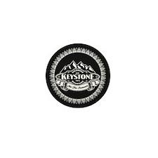 Keystone Mountain Emblem Mini Button