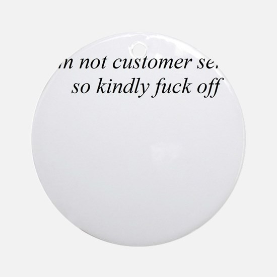 Adult comedy Ornament (Round)