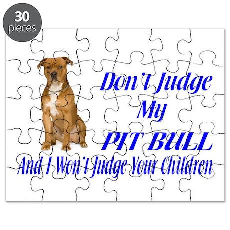 PITBULL JUDGEMENT Puzzle