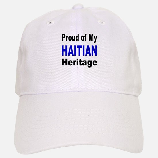 Proud Haitian Heritage Baseball Baseball Cap