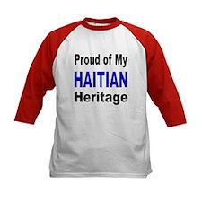 Proud Haitian Heritage (Front) Tee