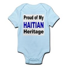 Proud Haitian Heritage Infant Creeper