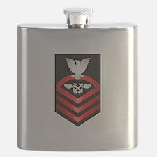 Navy Chief Aviation Boatswain's Mate Flask
